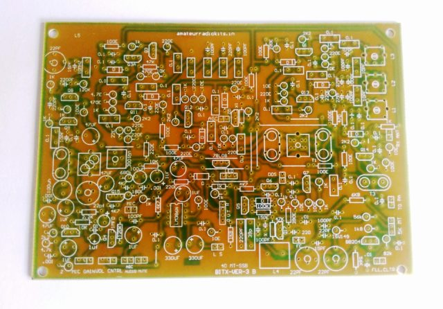 Bitx Ver 3B, 40MT SSB, Exciter Board