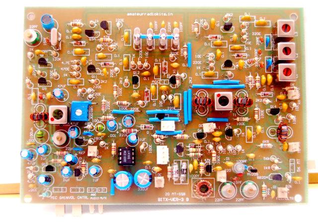 Bitx20 ssb transceiver kit