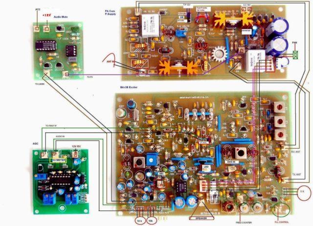 Bitx Version 3 SSB TCVR kit 20mt